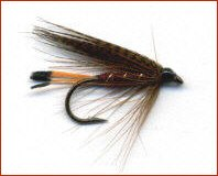 Mallard and Claret Trout Fly