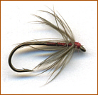 Early Trout Flies - Stewart's Dun Spider