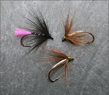 Simple Loch Trout Flies